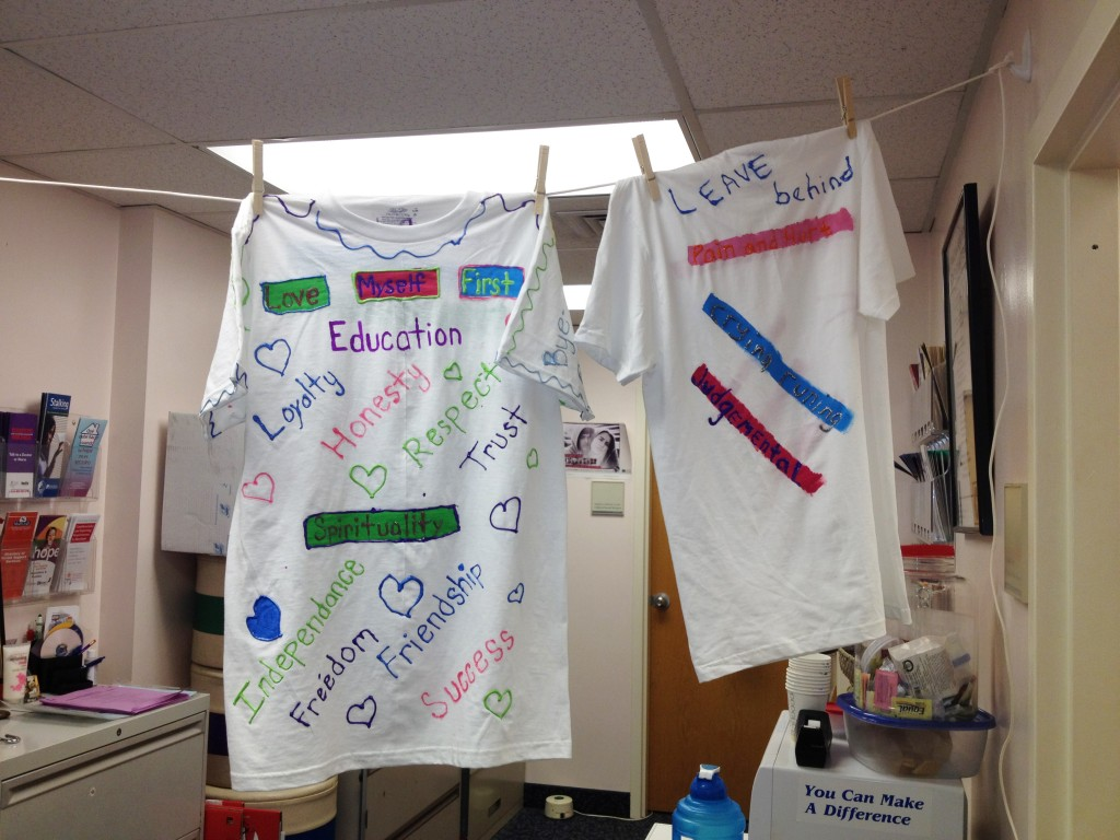 DV Word T shirts1 1024x768 T Shirts Help Raise Awareness of Domestic Violence Issues